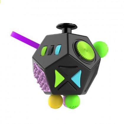 Fidget Dodecagon 12-Side Fidget Cube